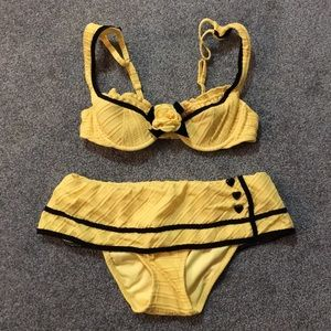 Brand New Betsey JohnsonTwo Piece Swimsuit!